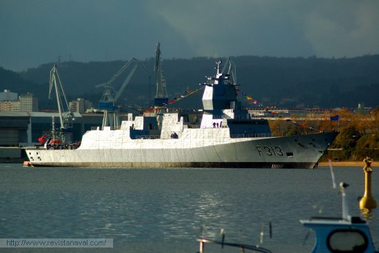 La fragata «Helge Ingstad» será entregada en 2009 a la Marina nórdica (Foto: E.U. Leira/Revista Naval)