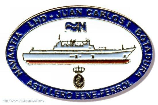 Insignia conmemorativa del acontecimiento (Foto: Revista Naval)