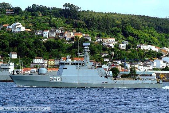 P-561 «Skaden» (Dinamarca) (Foto: Xoán Porto/Revista Naval)