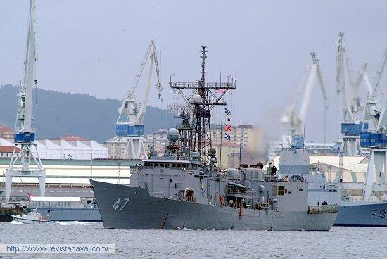 FFG-47 «Nicholas» (EE.UU.) (Foto: Xoán Porto/Revista Naval)