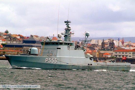 P-555 «Støren» (Dinamarca) (Foto: Xoán Porto/Revista Naval)