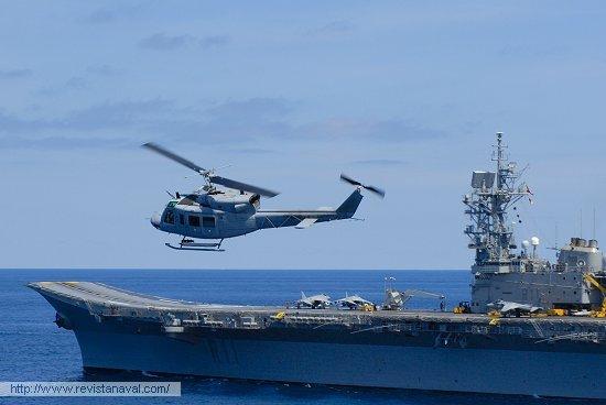 Demostración aeronaval (Foto: Fernando Rivera/Revista Naval)