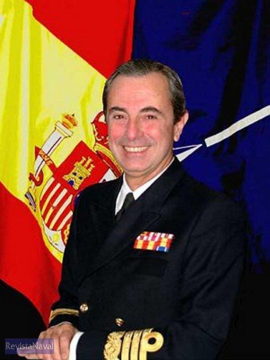 Almirante Del Pozo (Foto: OTAN)