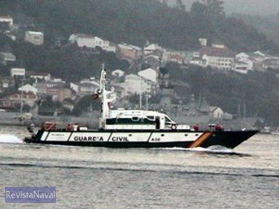 Patrullera «Río Andarax» del Servicio Marítimo de la Guardia Civil (Foto: RevistaNaval.com)