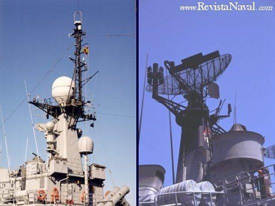 Radares DA.05/2 y Signaal HZA.06