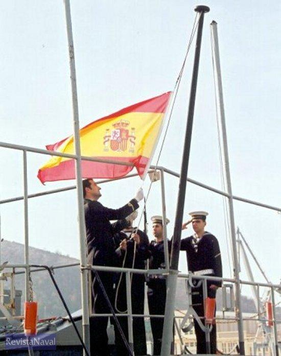 Arriado de Bandera (Foto: Diego Quevedo Carmona).