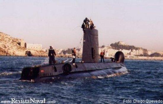 El S-64 Narval visitó en su última singladura, los puertos de Barcelona y Valencia antes de regresar a la ciudad departamental