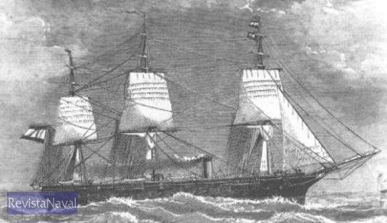 "Fragata de hélice ""Navas de Tolosa"""