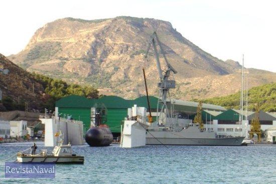 El «Carrera» fue puesto a flote el pasado 15 de noviembre (Foto: Lapenu)