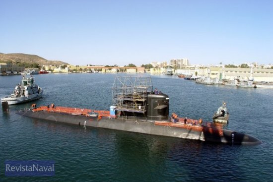 El «Carrera» será entregado el año próximo (Foto: Armada de Chile)