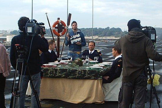 Momento de la grabación del programa (Foto: CGF)