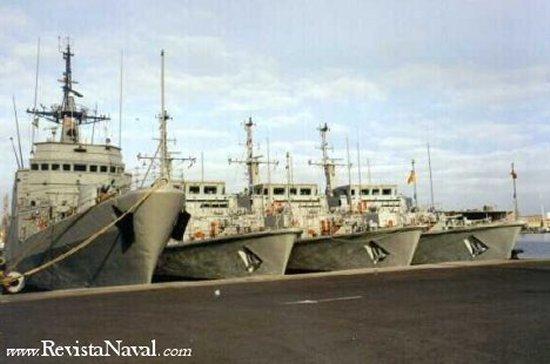 Flotilla de Medidas Contra Minas en Barcelona