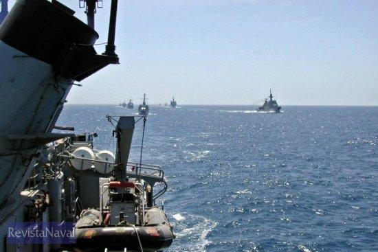 Sail pass con la Marina Real de Marruecos (Foto: vía Javier Peñuelas)