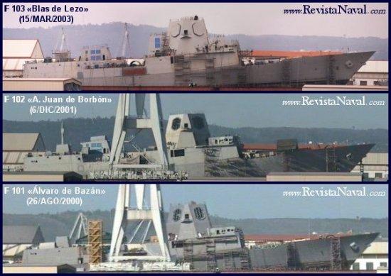 Evolución del programa de fragatas F-100