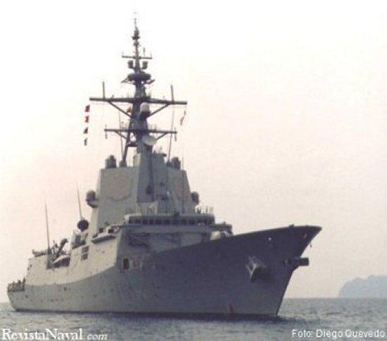 La F101 Álvaro de Bazán es la primera de cuatro unidades llamadas a ser la punta de lanza de la Armada durante el primer tercio del siglo XXI (Foto: Diego Quevedo Carmona).