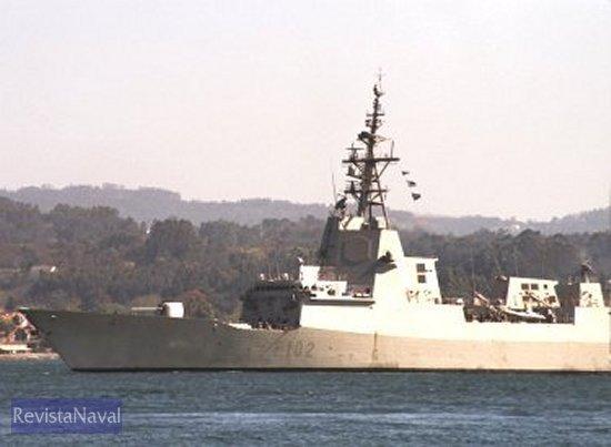El buque será entregado en noviembre de 2003 (Foto: RevistaNaval.com).