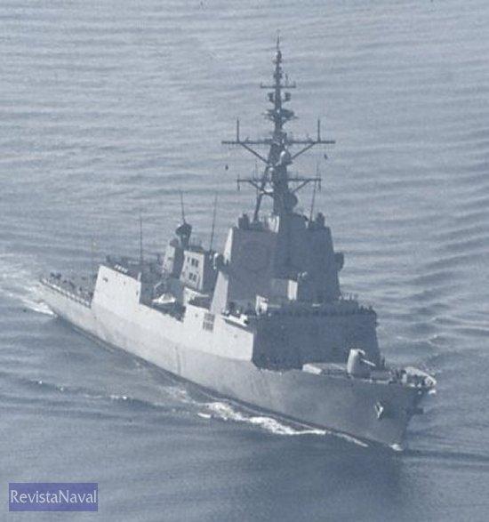 La fragata F102 Almirante Juan de Borbón (Foto: RevistaNaval.com).