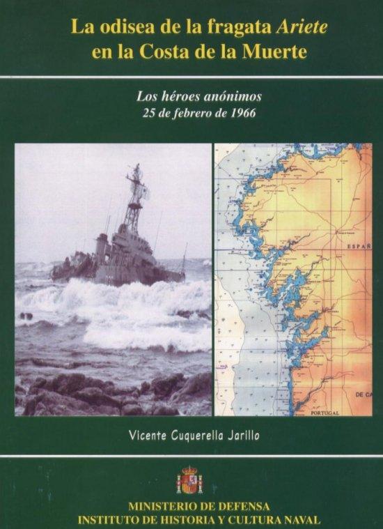 Cubierta del libro que edita el Instituto de Historia y Cultura Naval
