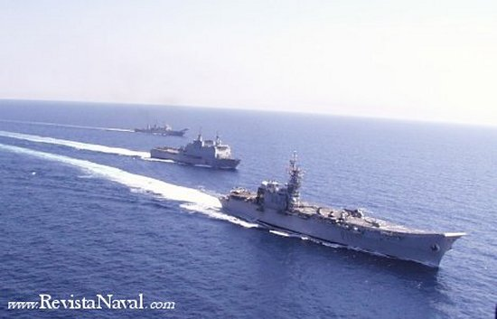La posesión de un portaaviones es un elemento multiplicador de la capacidad de cualquier fuerza naval o anfibia
