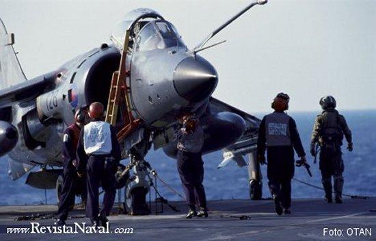 Los británicos juzgaron como decisiva la utilización de los Sea Harrier durante el conflicto de las Islas Malvinas en 1982