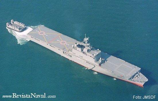 Japón es la otra gran potencia perdedora de la Segunda Guerra Mundial. Los buques de la clase Ohsumi son considerados como un tímido acercamiento en el camino hacia la creación de una auténtica aviación naval embarcada