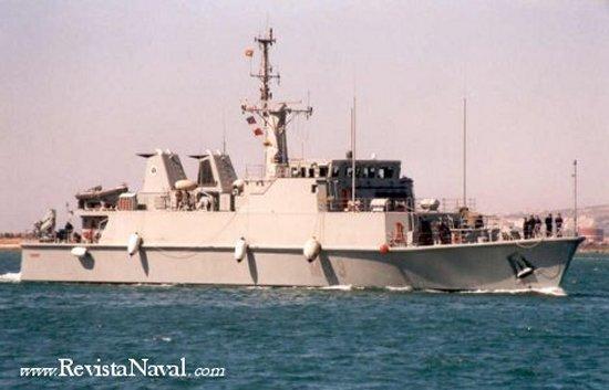 El cazaminas español M-33 Tambre