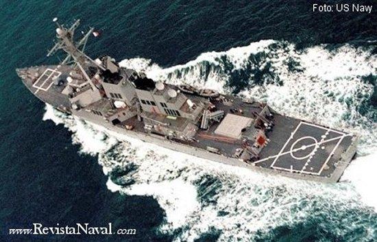 Destructor AEGIS norteamericano USS John S. McCain DDG 56 (US Navy)