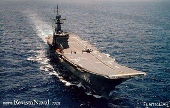El portaaeronaves tailandés CVH-911 Chakri Naruebet, el gran éxito comercial de la entonces Empresa Nacional Bazán