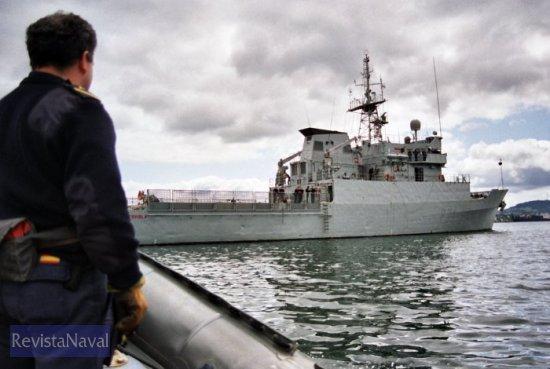 Imagen de archivo del patrullero P-71 «Serviola» (Foto: Fernando Rivera/RevistaNaval.com)