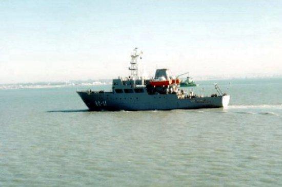 Experiencia. La antigua Empresa Nacional Bazán entregó a principios de los 90 un buque oceanográfico para la Armada venezolana, el «Punta Brava» (Foto: Izar)