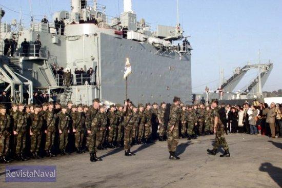 Rota, 9 de febrero de 2005. Regreso de la FIMAR XXIII (Foto: ORP Armada)