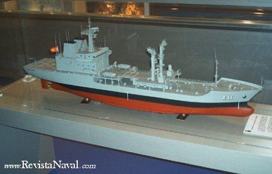 Modelo del A-11 Marqués de la Ensenada