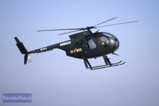 El aparato siniestrado, similar al de la imagen, pertenece a la 6ª Escuadrilla de Aeronaves de la Armada (Foto: Armada)