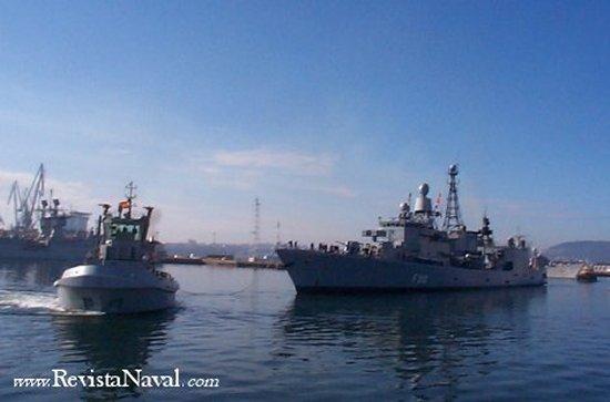 Las unidades del tren naval trabajaron duro los días 29 de septiembre y 8 de octubre.