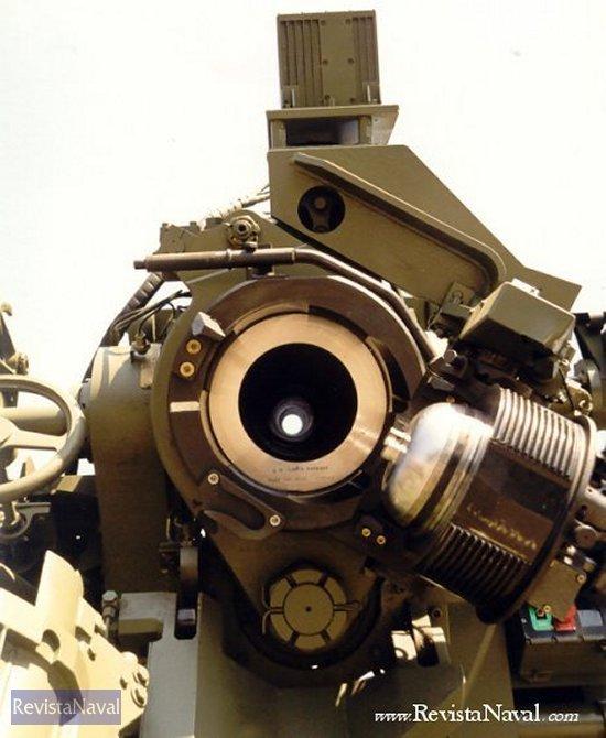 Obús 155/52 mm. Santa Bárbara
