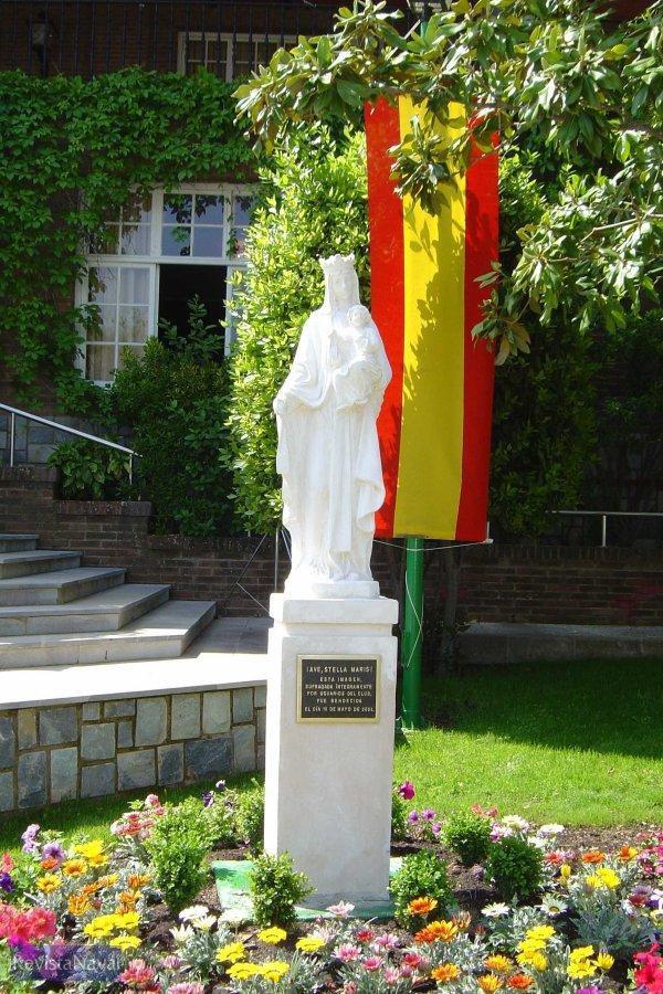 La Virgen del Carmen, Patrona de la Armada (Foto: Javier Peñuelas González)