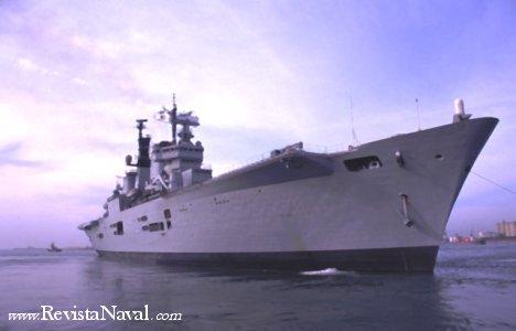 Portaaviones británico HMS Ark Royal