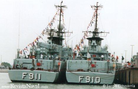 Estas fragatas son el máximo exponente del poder naval belga