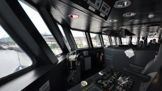 Imagen: Visita a bordo (II)