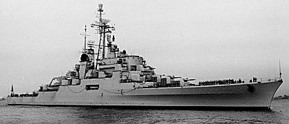 Imagen: Los últimos buques artilleros: los cruceros antiaéreos