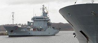 Imagen: Los tender de la clase «Elbe» recibirán sistemas SATCOM de Indra
