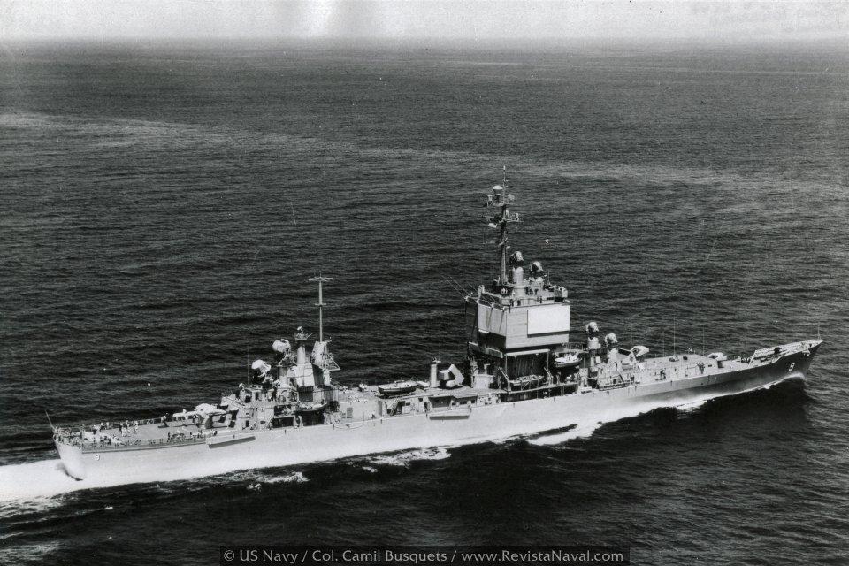 El crucero nuclear «Long Beach»