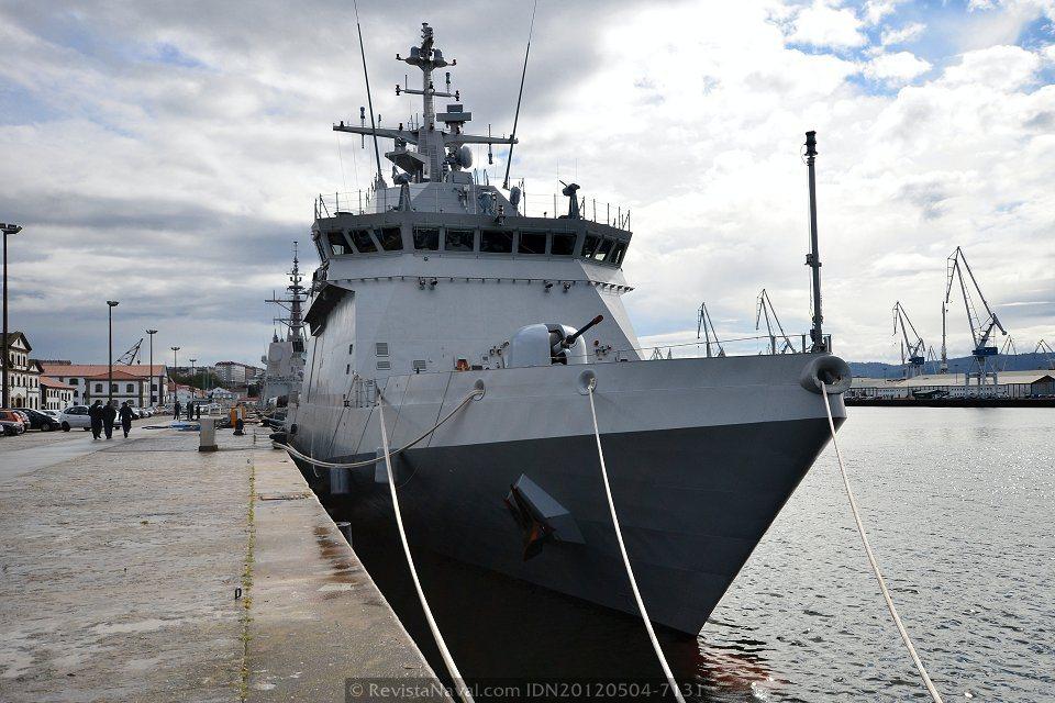 A bordo de los buques de acción marítima BAM (I)