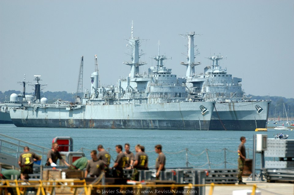 Malvinas: la Task force británica