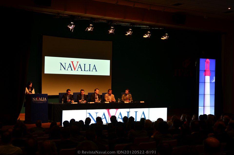 Vigo celebra la feria internacional del sector naval Navalia 2012