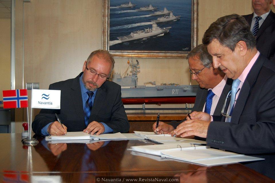 Navantia firma un acuerdo para el mantenimiento de las fragatas noruegas