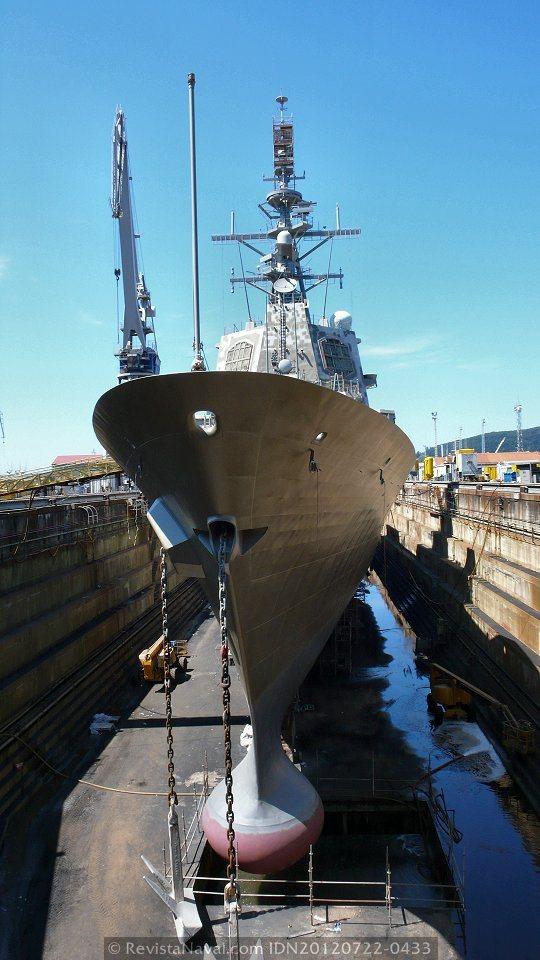 El programa de destructores AWD demorará la entrega del primer buque a 2016