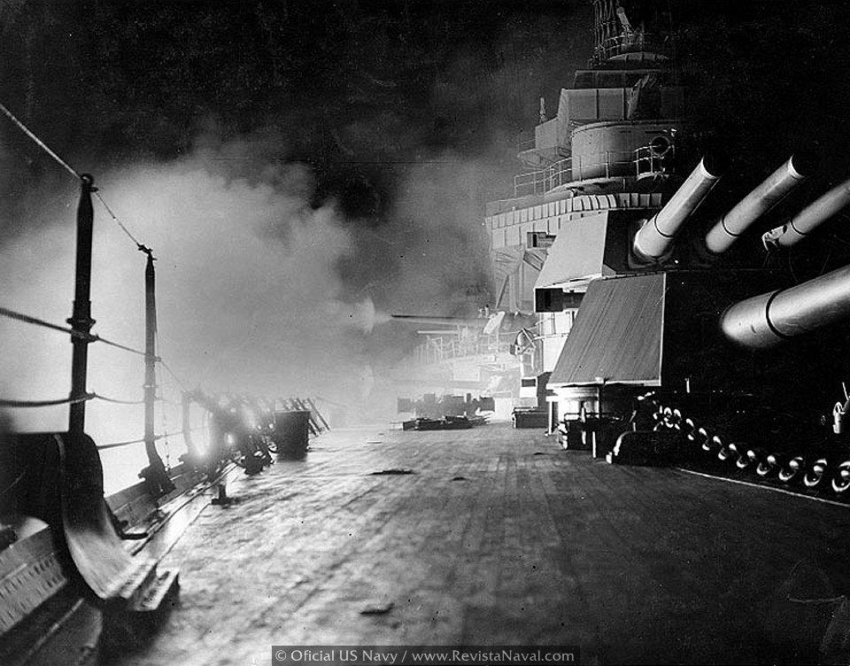 Los últimos buques artilleros