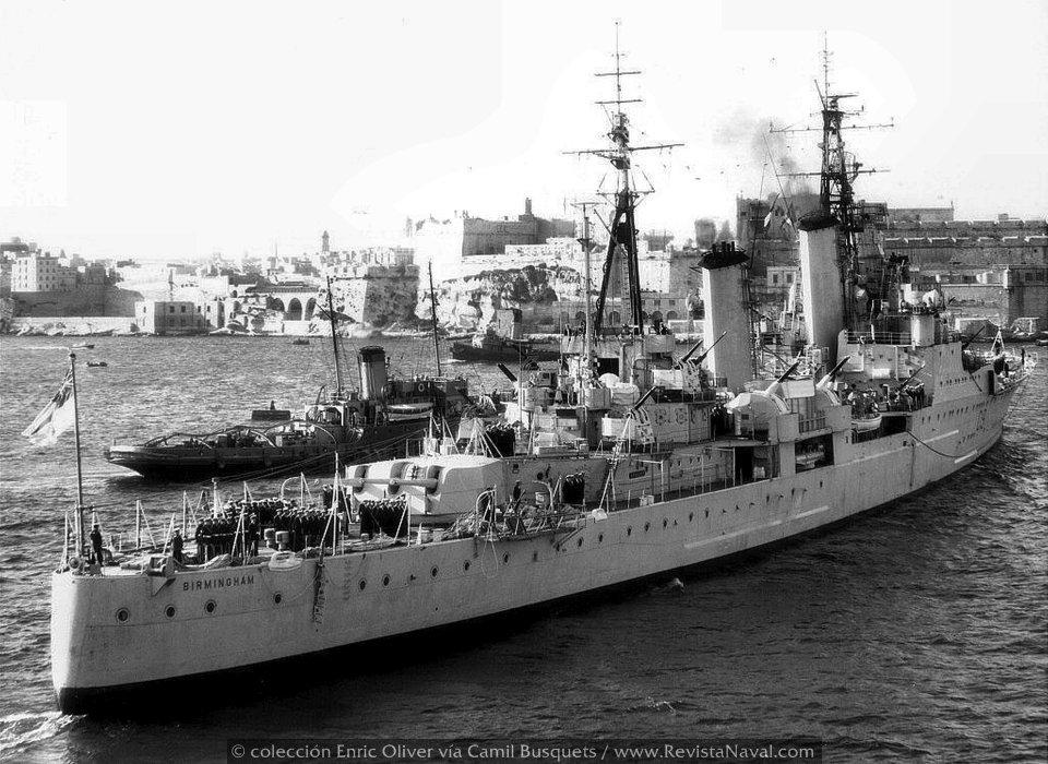 Los últimos buques artilleros: los cruceros antiaéreos