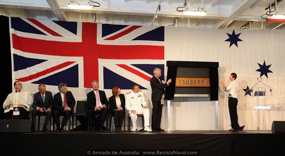 Australia bautiza oficialmente su primer LHD